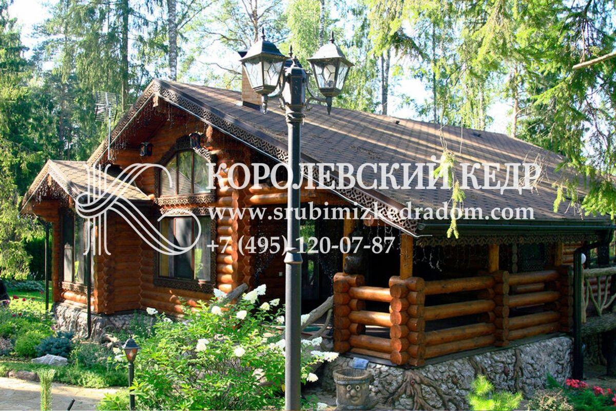 Дома из кедра от КОРОЛЕВСКОГО КЕДРА