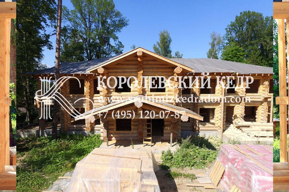 Дом из кедра от КОРОЛЕВСКОГО КЕДРА